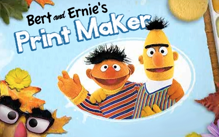 Bert and Ernie's Printmaker