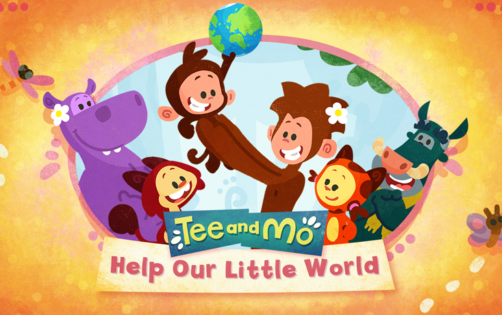 Tee and Mo Help Our Little World Song