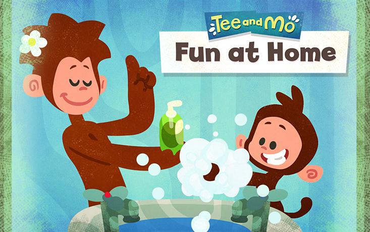 Tee and Mo: Fun at Home