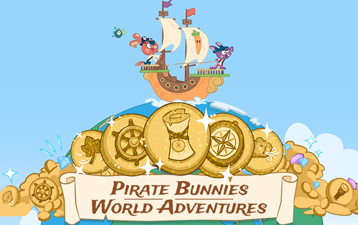 Pirate Bunnies: World Adventures